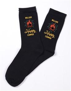 gifts: Personalised Happy Camper Socks!