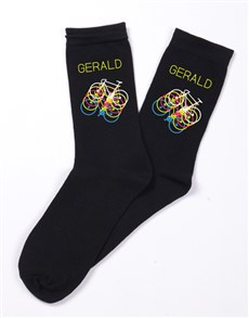 gifts: Personalised Cycling Socks!