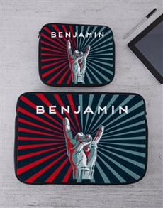 gifts: Personalised Good Time Tablet or Laptop Sleeve!