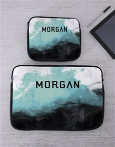gifts: Personalised Watercolour Tablet or Laptop Sleeve!