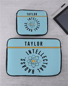 gifts: Personalised Badass Tablet or Laptop Sleeve!