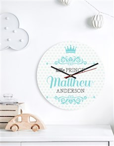 gifts: Personalised Little Prince Clock!