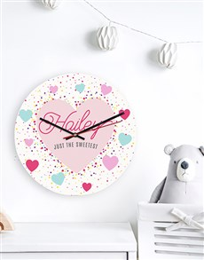 gifts: Personalised Sweetest Clock!