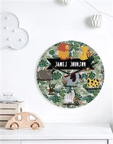 gifts: Personalised Wild One MDF Clock!
