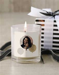 gifts: Personalised Photo Birthday Candle!