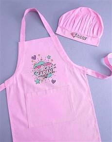 gifts: Personalised Princess Kids Apron!