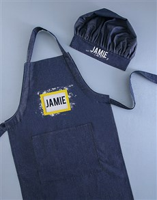 gifts: Personalised Name Kids Apron!