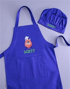 gifts: Personalised Monster Kids Apron!