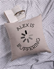 gifts: Personalised Buffering Scatter Cushion!