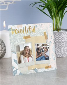 gifts: Personalised So Beautiful Glass Tile !