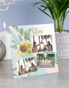 gifts: Personalised Shine Glass Tile !