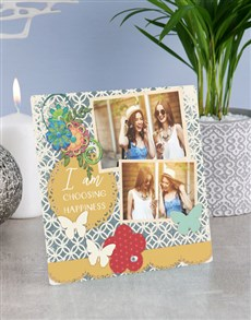 gifts: Personalised Happiness Glass Tile !