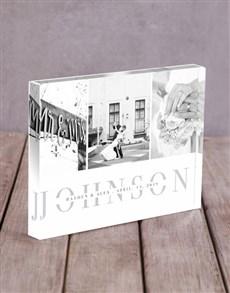 gifts: Personalised Multi Photo Acrylic Block!