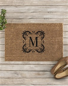 gifts: Personalised Initital Doormat !