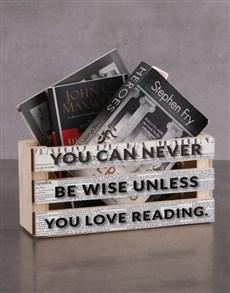 gifts: Personalised Love Reading Magazine Rack!