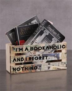 gifts: Personalised Bookaholic Magazine Rack!