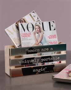 gifts: Personalised Magic Magazine Rack!