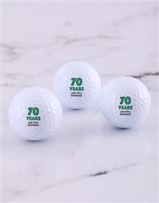 gifts: Personalised Still Swinging Golf Balls!