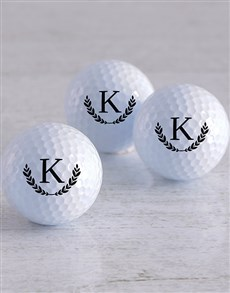 gifts: Personalised Wreath Golf Balls!