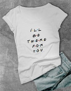 gifts: Personalised Dotted Text Ladies T Shirt!