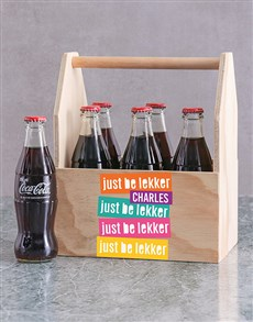 gifts: Personalised Be Lekker Man Crate!