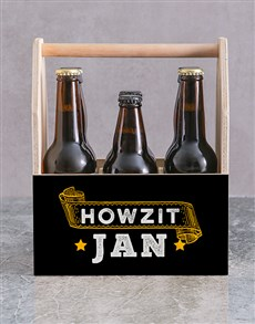 gifts: Personalised Howzit Man Crate!