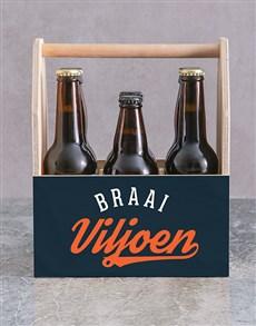 gifts: Personalised Braai Legend Man Crate!