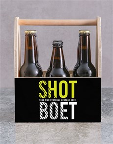 gifts: Personalised Shot Boet Man Crate!