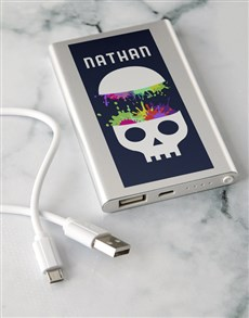 gifts: Personalised Mind Blown Power Bank!