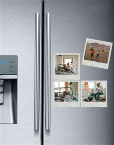 gifts: Personalised Polaroid Magnets Set Of Four!