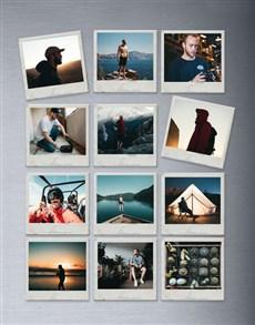 gifts: Personalised Polaroid Magnets Set Of Twelve!