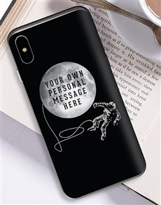 gifts: Personalised Astronaut iPhone Cover!