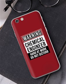 gifts: Personalised Warning iPhone Cover!