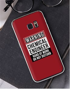 gifts: Personalised Warning Samsung Cover!