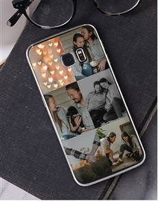 gifts: Personalised Six Photo Samsung Cover!