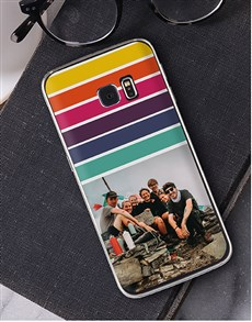 gifts: Personalised Rainbow Photo Samsung Cover!