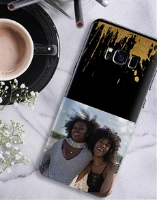 gifts: Personalised Splash Photo Samsung Cover!