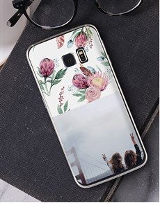 gifts: Personalised Protea Photo Samsung Cover!