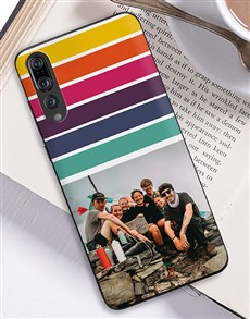 gifts: Personalised Rainbow Photo Huawei Cover!