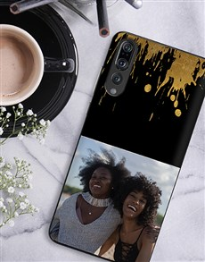 gifts: Personalised Splash Photo Huawei Cover!
