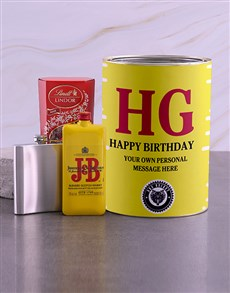 gifts: Personalised J and B Bro Bucket!