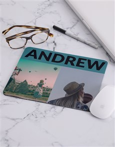 gifts: Personalised Photo Modern Mousepad!