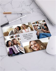 gifts: Personalised Photo Collage Mousepad!