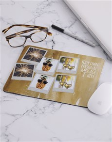 gifts: Personalised Family Photo Collage Mousepad!