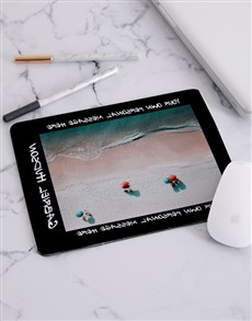 gifts: Personalised Shore View Mousepad!