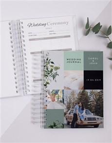 gifts: Personalised Multi Photo Wedding Journal!