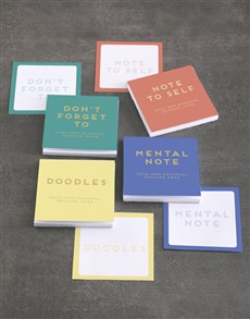 gifts: Personalised Doodle Note Gift Set!