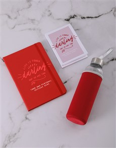 gifts: Personalised Darling Go Stationery Set!