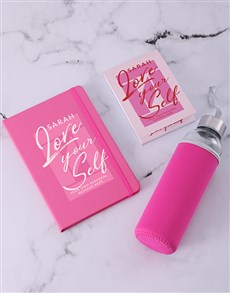 gifts: Personalised Love Yourself Go Stationery Set!