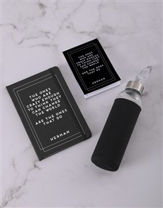 gifts: Personalised Change The World Go Stationery Set!